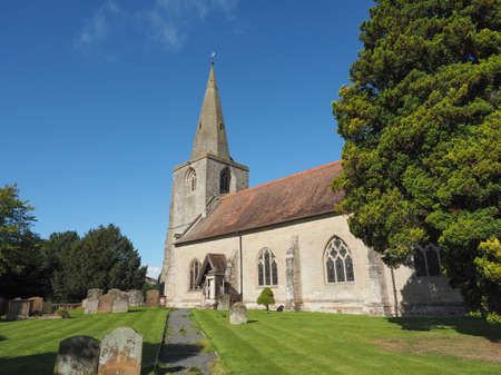 nick: Parish Church of St Mary Magdalene in Tanworth in Arden, UK
