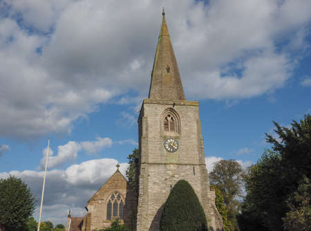 parish: Parish Church of St Mary Magdalene in Tanworth in Arden, UK