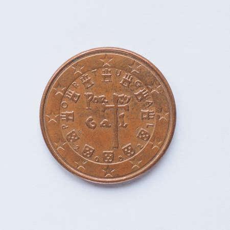 Währung Europa 5 Cent Münze Aus Italien Lizenzfreie Fotos Bilder