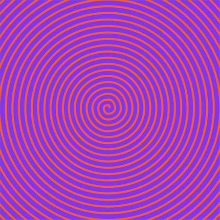 spire: Psychedelic red spiral over a blue background Stock Photo