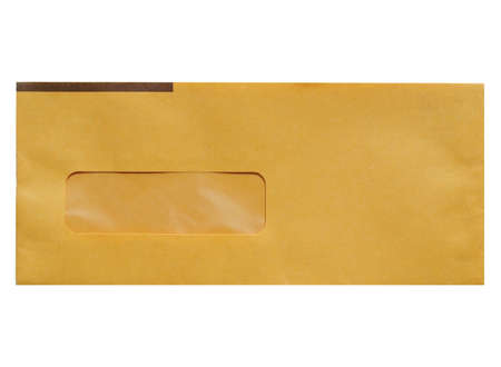 postage: A letter envelope for mail postage shipping