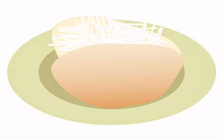 comida inglesa: Patatas asadas al horno con queso cheddar superando llenar alimentos Ingl�s cocina brit�nica tradicional