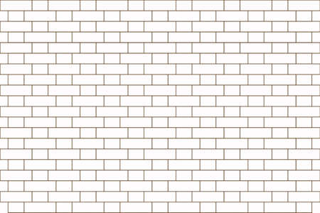bond: Vector illustration of an English bond brick wall