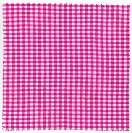 checker: Pink checker fabric cloth useful as a background
