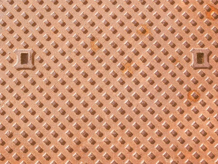 steel sheet: Vintage looking Diamond steel metal sheet useful as background