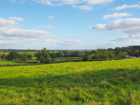 arden: English countryside in Tanworth in Arden Warwickshire, UK