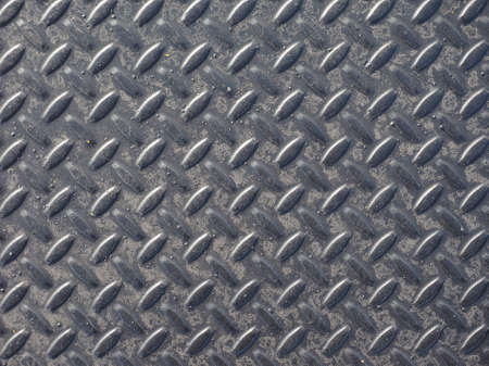 diamond plate: Grey steel diamond plate useful as a background Stock Photo