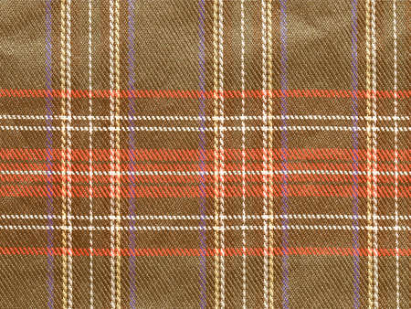 bedcover: Vintage looking Traditional Scottish tartan textile pattern useful as a background