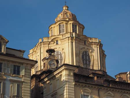 lorenzo: The church of San Lorenzo in Turin, Italy