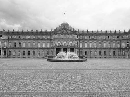 neues: Neues Schloss (New Castle) in Stuttgart, Germany