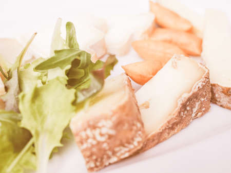 cheese platter: Vintage looking Cheese platter with a selection of many fine handmade cheeses