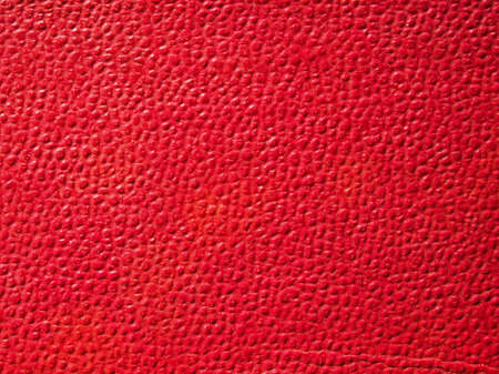 leatherette: Red leatherette texture useful as a background Stock Photo