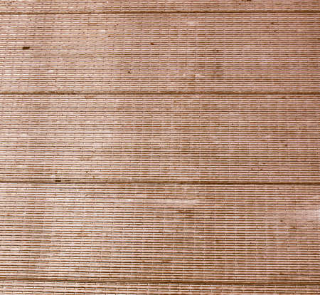 engineered: Detail of a wood plank board background vintage Stock Photo