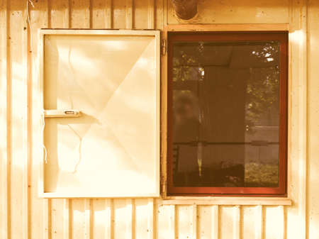 prefab: Prefabricated house prefab vintage