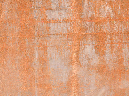 rusted background: Vintage looking Rusted steel sheet useful as a background