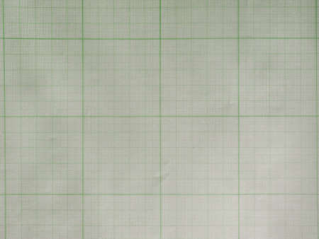 millimeters: Green graph paper texture useful as a background
