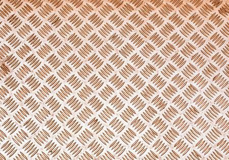 diamond background: Vintage looking Diamond steel plate useful as a background