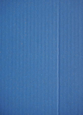 corrugated cardboard: Blue corrugated cardboard useful as a background