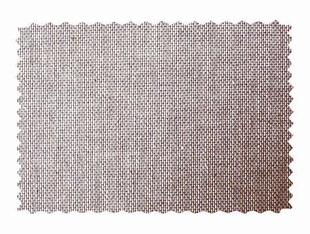 denim fabric: Denim fabric swatch sample isolated over white background vintage