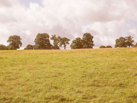 arden: English countryside in Tanworth in Arden Warwickshire, UK vintage Stock Photo
