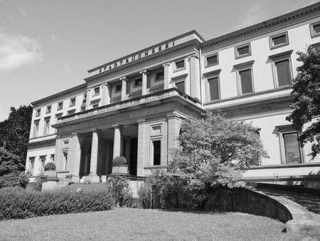 stuttgart: The Stadtbuecherei (City library) in Stuttgart, Germany