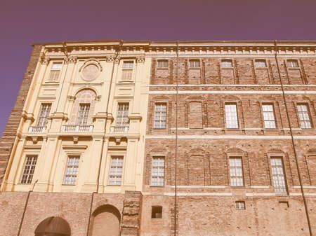 di: Castello di Rivoli castle near Turin, Italy vintage