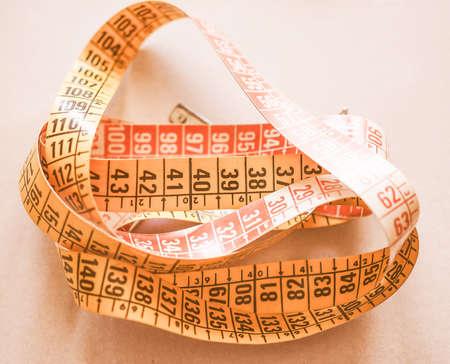 jib: Measuring tape flexible ruler ribbon for tailoring vintage