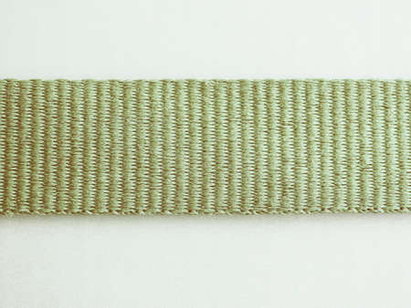 jib: Ribbon of green fabric detail vintage