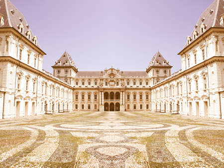 castello: Castello Del Valentino in Turin (Torino), Italy vintage
