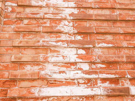 caused: Damage caused by damp and moisture on a wall vintage