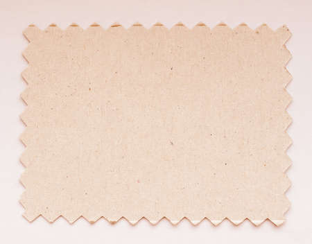 zig zag: Paper swatch cut with pinking shears zig zag scissors vintage