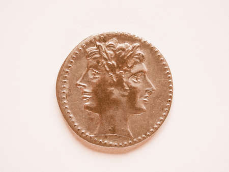 greek coins: Ancient coin vintage