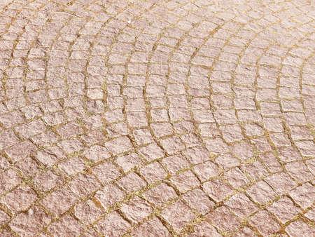 piso piedra: Vintage que mira Suelo de piedra textura útil como fondo