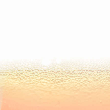 bubble background: Vintage looking Beer foam in a glass, with copy space