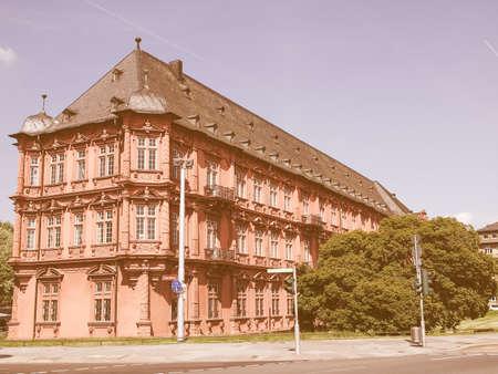 germanic: Roemisch Germanisches Zentralmuseum roman germanic museum in Mainz vintage