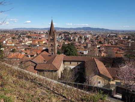 rivoli: View of the city of Rivoli, Italy