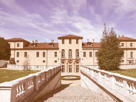 regina: The Villa della Regina in Turin Italy vintage