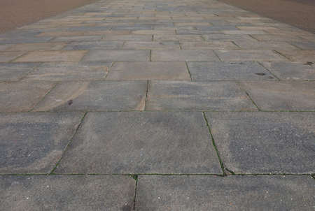 stone floor: Perspective view of stone floor texture useful as a background