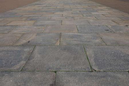 piso piedra: Vista en perspectiva de piso de piedra textura útil como fondo