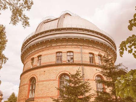 astrophysics: Grosser Refraktor meaning Large Refractor at Leibniz Institute for Astrophysics vintage