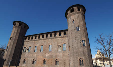 castello: Palazzo Madama Royal palace in Piazza Castello in Turin, Italy