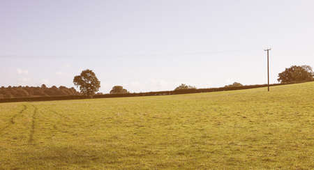 warwickshire: English countryside in Tanworth in Arden Warwickshire, UK vintage Stock Photo