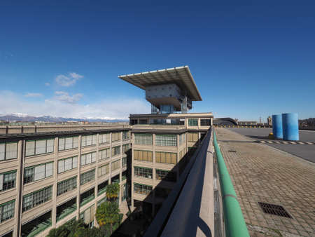 fiat: TURIN, ITALY - CIRCA MARCH 2016: Pinacoteca Agnelli art gallery designed by Renzo Piano at Lingotto former Fiat car factory Editorial