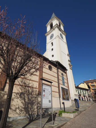 vincoli: SETTIMO TORINESE, ITALY - CIRCA MARCH 2016: San Pietro in Vincoli (meaning St Peter in Chains) church