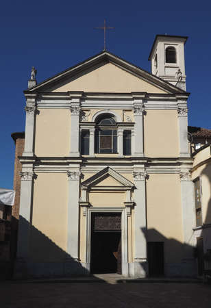 st  peter: San Pietro in Vincoli (meaning St Peter in Chains) church in Settimo Torinese, Italy