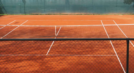 venue: Tennis court venue where the sport of tennis is played