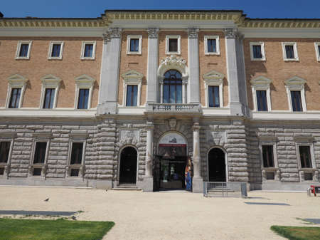 antiquities: TURIN, ITALY - CIRCA APRIL 2016: Archeological museum of antiquities