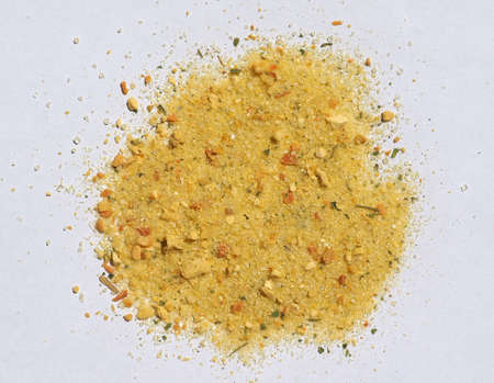 flavour: Vegetarian seasoning condiment mixture of salt with flavour enhancers, spices and vegetables