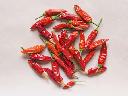 chilli pepper: Hot chili peppers (Capsicum) aka chile pepper or chilli pepper vegetables vegetarian food