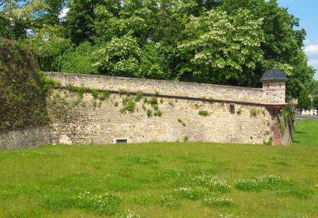 citadel: Mainz Zitadelle citadel of Mainz in Germany Editorial